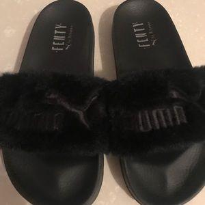 Puma Shoes - Puma fury Sandals Rihanna black size7.5 b6ed7bafd